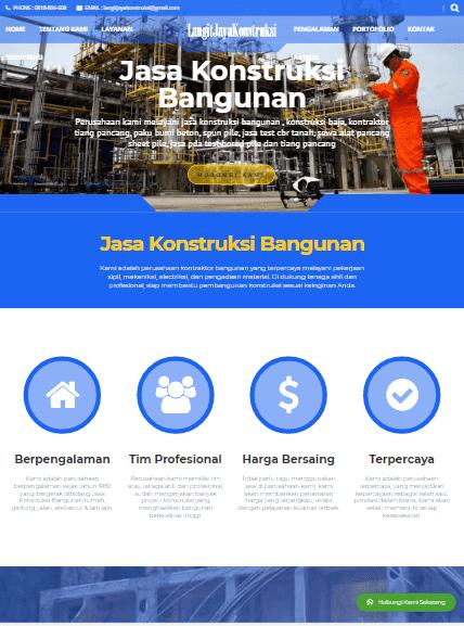 portofolio jasa pembuatan website terbaik