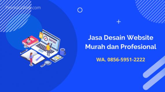 Jasa Desain Website Murah dan Profesional