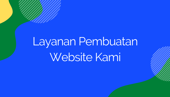 Layanan jasa Website Manado