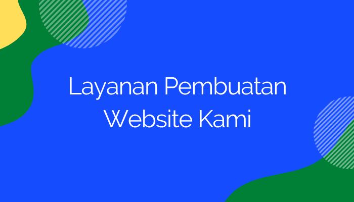 Layanan jasa website palembang